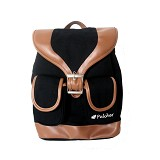 PULCHER Fox [K-02] - Black - Backpack Wanita